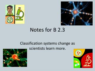 Notes for B 2.3