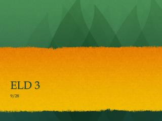 ELD 3