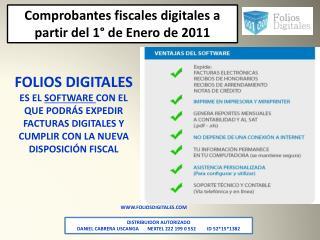 WWW.FOLIOSDIGITALES.COM