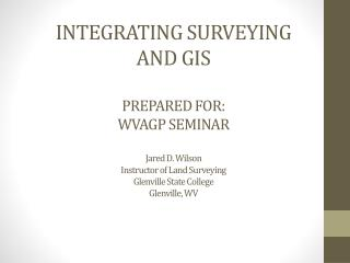 SURVEYING & GIS