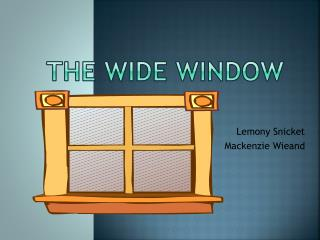 The wide window