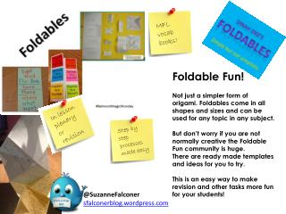 Foldable Fun!