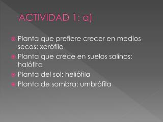 ACTIVIDAD 1: a)