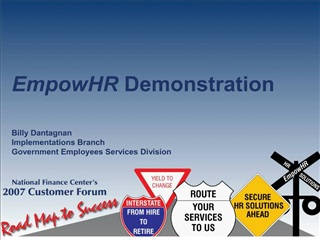 EmpowHR Demonstration