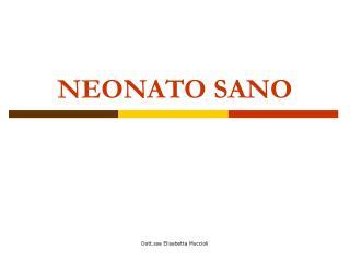 NEONATO SANO