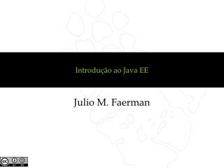 Introdução ao Java EE