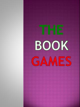 The  book games