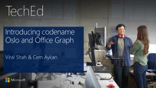 Introducing codename Oslo and Office Graph