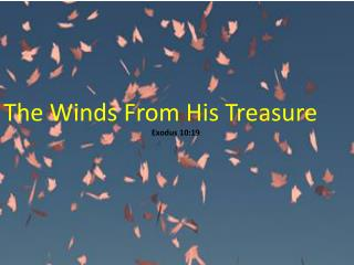 The Winds  From  His Treasure