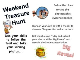 Weekend Treasure Hunt
