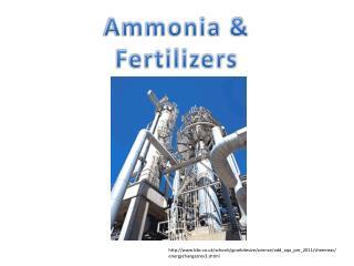 Ammonia & Fertilizers