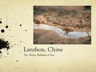 Lanzhou, Chine