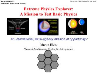 Extreme Physics Explorer:  A Mission to Test Basic Physics
