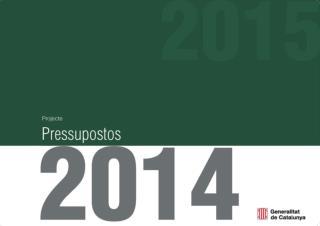 Pressupostos  2014