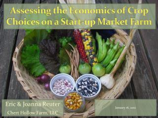 Assessing the Economics of Crop Choices on a Start-up Market Farm