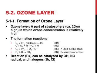 5-2. ozone layer