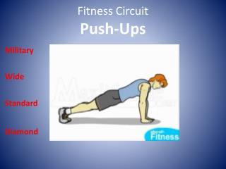 Fitness Circuit  Push-Ups
