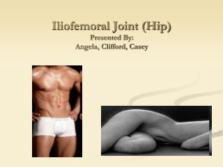 Iliofemoral Joint (Hip) Presented By: Angela, Clifford, Casey