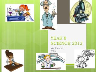 YEAR 8 SCIENCE  2012
