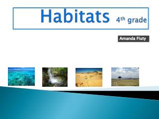 Habitats  4 th  grade