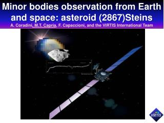 Minor bodies observation from Earth and space: asteroid  (2867)Steins