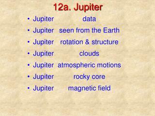 12a. Jupiter