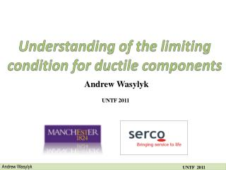 Understanding of the limiting condition for ductile components