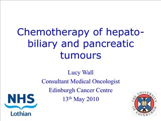 Chemotherapy of hepato-biliary and pancreatic tumours
