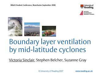 Boundary layer ventilation by mid-latitude cyclones