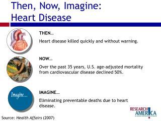 Then, Now, Imagine: Heart Disease