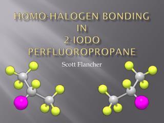 Homo-halogen bonding in 2-iodo  perfluoropropane