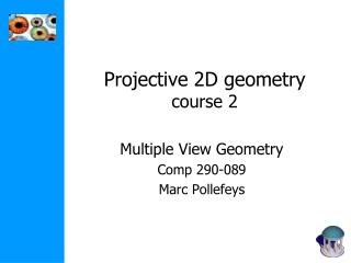 Projective 2D geometry course 2