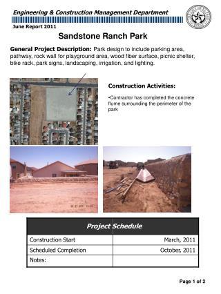 Construction Activities: