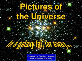Pictures of the Universe