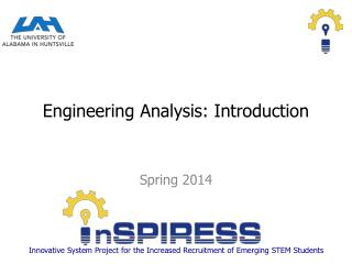 Engineering  Analysis: Introduction