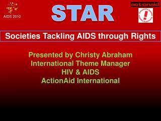 Societies Tackling AIDS through Rights