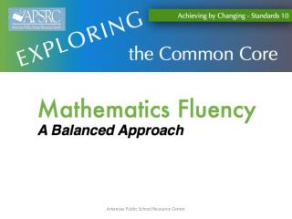 What is and  why is  math fluency important?