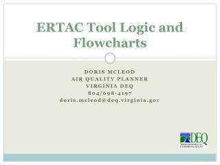 ERTAC Tool Logic and Flowcharts
