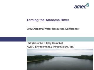 Taming the Alabama River