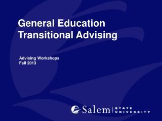 General  Education  Transitional Advising
