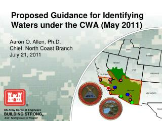Proposed Guidance for Identifying  Waters under  the CWA (May 2011)