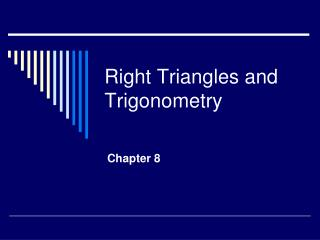 Right Triangles and Trigonometry