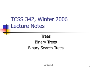 Binary Trees Introduction