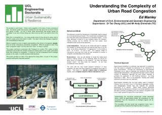 Understanding the Complexity of Urban Road Congestion