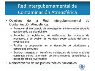 Red Intergubernamental de Contaminación Atmosférica