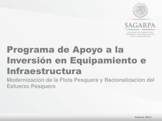 Programa de Apoyo a la Inversión en Equipamiento e Infraestructura