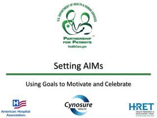 Setting AIMs