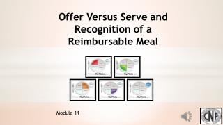 Offer Versus Serve and Recognition of a Reimbursable Meal