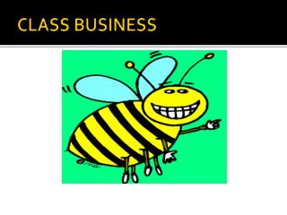 CLASS BUSINESS