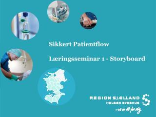 Sikkert  Patientflow L�ringsseminar 1 - Storyboard